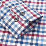 Men Plaid Shirts Casual Cotton Mens Shirts Long Sleeve Plus Size Shirts-Shirt-Kenya-LeStyleParfait.Co.Ke