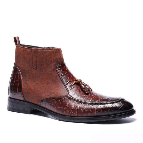 Men's Boots High Quality Retro Leather Boots-Shoes-LeStyleParfait.Co.Ke
