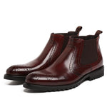 Men's Boots Leather High Quality Men's Shoes-Shoes-LeStyleParfait.Co.Ke