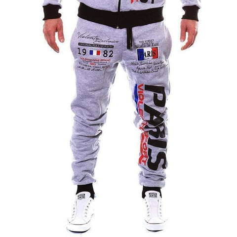 Mens Casual Jogger Pants Hip Hop Sweatpants-Men's Pants-Kenya-LeStyleParfait.Co.Ke