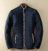 Mens Jacket Fashion Thin Padded Plus Size Jacket-Jacket-Kenya-LeStyleParfait.Co.Ke