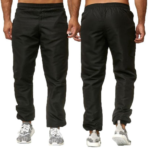 Men's Jogger Pants Elastic Waist Sweatpants-Men's Pants-Kenya-LeStyleParfait.Co.Ke