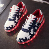 Men's Sneakers, Glowing LED Light Shoes, Men Casual Shoes-Shoes-Le Style Parfait Kenya