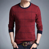 Men's Sweaters Autumn Cashmere Sweaters Plus Size-Sweaters-Kenya-LeStyleParfait.Co.Ke