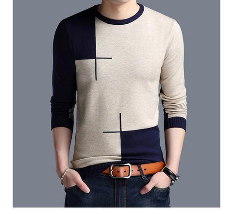 Men's Sweaters Cashmere Knitted Autumn Sweater-Sweaters-Kenya-LeStyleParfait.Co.Ke