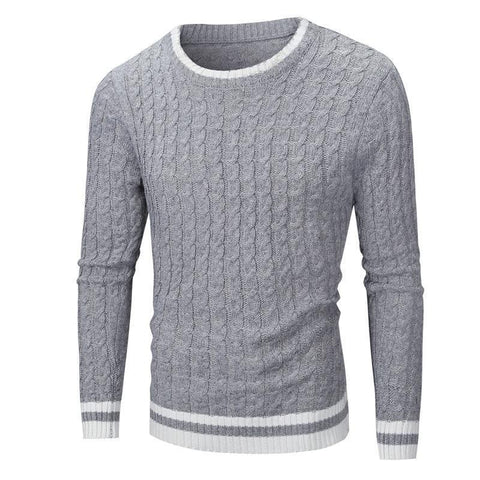 Men's Sweaters, O-Neck Pullover-Sweaters-LeStyleParfait.Co.Ke