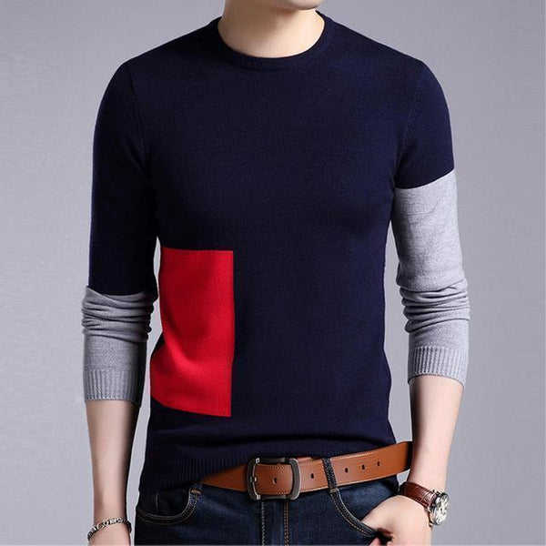 Men's Sweaters Plus Size Cashmere Sweaters-Sweaters-Kenya-LeStyleParfait.Co.Ke