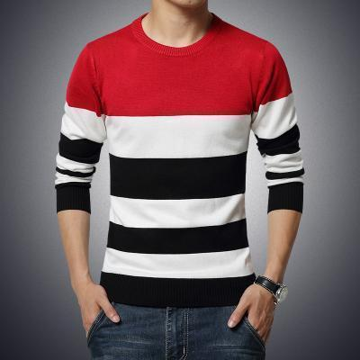 Men's Sweaters Plus Size Sweaters Striped-Sweaters-Kenya-LeStyleParfait.Co.Ke
