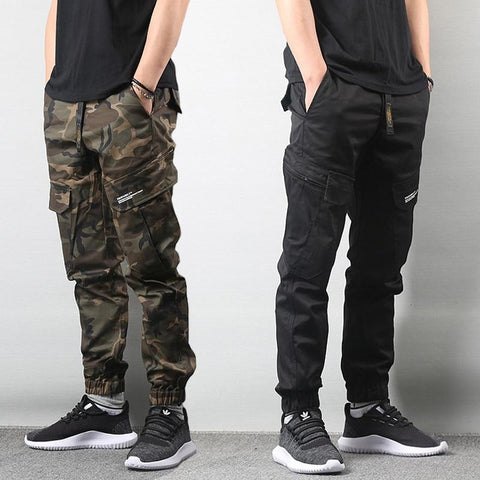 Military Cargo Pants For Men-Camouflage, Cargo, Casual, Clothing, Distressed, Hip Hop, Jeans, Men, Men's, Military, Pants, Street Style, Streetwear, Trouser-LeStyleParfait.Co.Ke