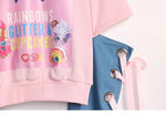 Punk Sweatshirt Women Cartoon Print Sweatshirt-Sweatshirts-Kenya-LeStyleParfait.Co.Ke