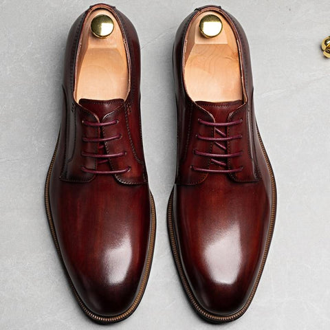 Samuele Italian Leather Shoes For Men-Shoes-online-LeStyleParfait.Co.Ke