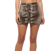 Sexy Bandage Mini Skirts Women High Waist Short Bodycon Skirt-Skirts-Kenya-LeStyleParfait.Co.Ke