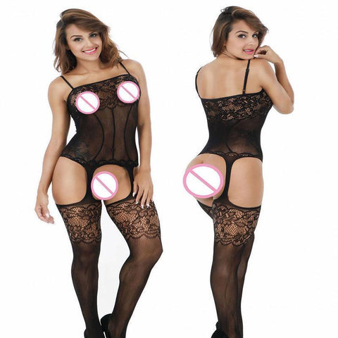 Sexy Lingerie Women Plus Size Lingerie Women Bodystocking-Lingerie-Kenya-LeStyleParfait.Co.Ke