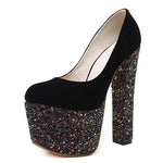 Sexy Women Shoes High Heels Pumps Bling Platform Shoes-Shoes-4.5-Le Style Parfait Kenya