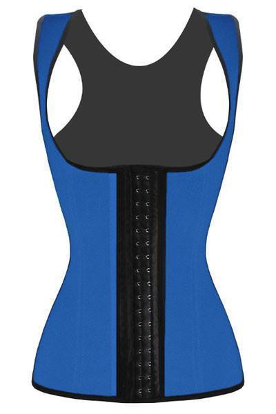 Shapewear-Blue Waist Cincher Body Shaper-Corset Body Shaper-LeStyleParfait.Co.Ke