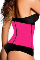 Shapewear-Corset Body Shaper With 4 Steel Cones, Rose-Corset Body Shaper-LeStyleParfait.Co.Ke