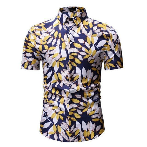 Shirt-Mens Summer Shirt, Hawaiian Shirt-Shirt-LeStyleParfait.Com