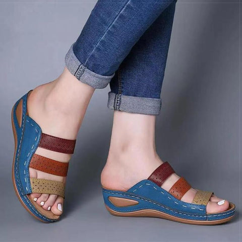Summer Wedges Shoes - Women's Sandals-Shoes-LeStyleParfait.Co.Ke