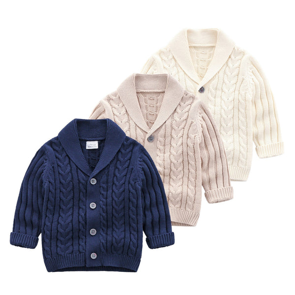 Sweater, Boys Cardigans 6-24 Months-Kids Sweaters-Kenya-LeStyleParfait.Co.Ke