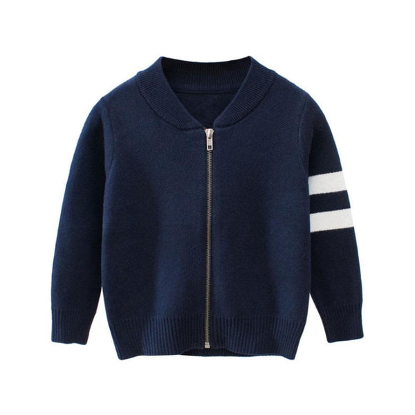 Sweater, Kids Striped Sweaters, Boys Cardigans-Kids Sweaters-Kenya-LeStyleParfait.Co.Ke