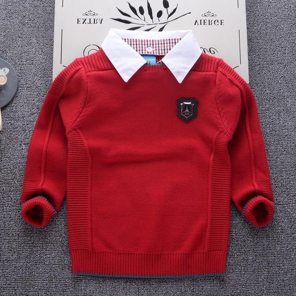 Sweater, Kids Sweaters, Round Neck UNISEX-Kids Sweaters-Kenya-LeStyleParfait.Co.Ke