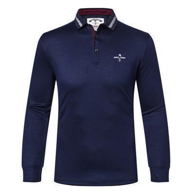 Tace & Shark Brand Mens Polo Shirt Long Sleeved T-Shirts-T-Shirts-Kenya-LeStyleParfait.Co.Ke