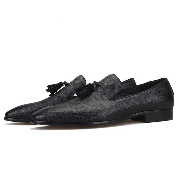 Tassel Leather Loafer Shoes-Shoes-Le Style Parfait Kenya