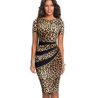"""The Diana"" Office Lady Bodycon Sheath Dress-Women-Dresses-Kenya-LeStyleParfait"