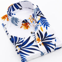 Vacay Floral Short Sleeves Shirt For Men-Shirt-LeStyleParfait.Com