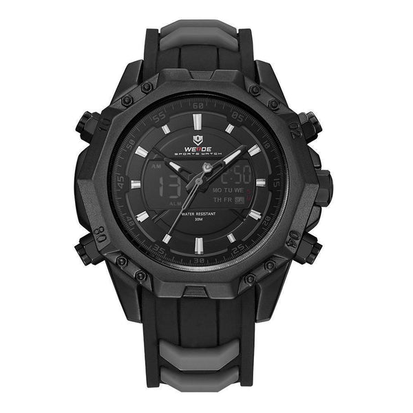 WEIDE Brand Watch Men's Sport Analog Quartz Movement Watch-Watches-Kenya-LeStyleParfait.Co.Ke