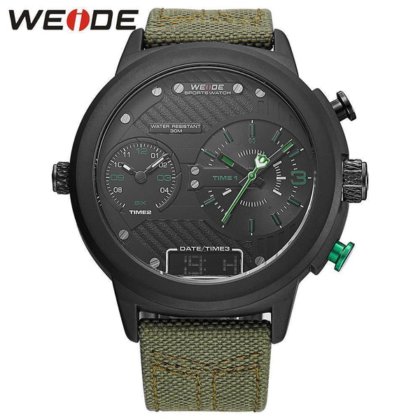 WEIDE Brand Watch Men's Wristwatch Sport Quartz Watch-Watches-Kenya-LeStyleParfait.Co.Ke