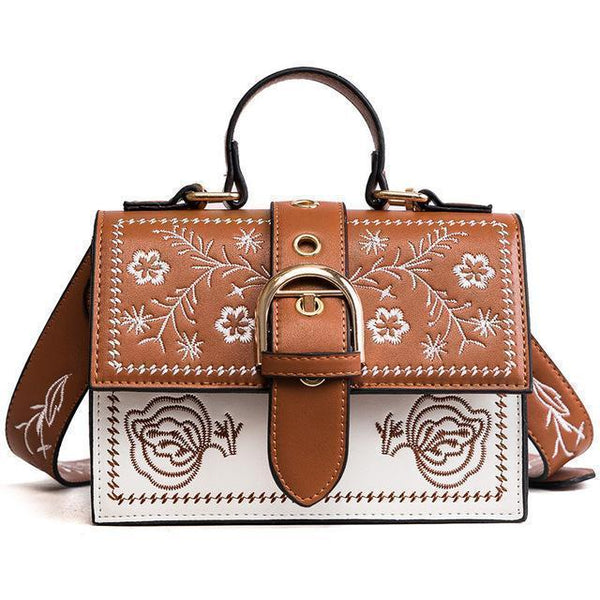 Women Bags Embroidered Flap Handbag-Bag-Kenya-LeStyleParfait.Co.Ke