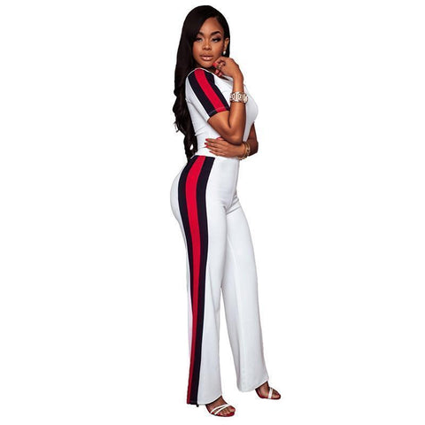Women Casual Tracksuit 2-Piece Pants and Women Top-Women Tracksuit-Kenya-LeStyleParfait.Co.Ke
