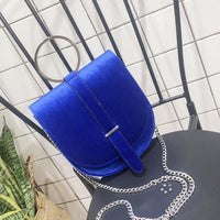 Women Handbags Mini Velvet Shoulder Bags-Bag-Kenya-LeStyleParfait.Co.Ke