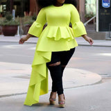 Women Party Blouse, Plus Size-Blouse-Kenya-LeStyleParfait.Co.Ke