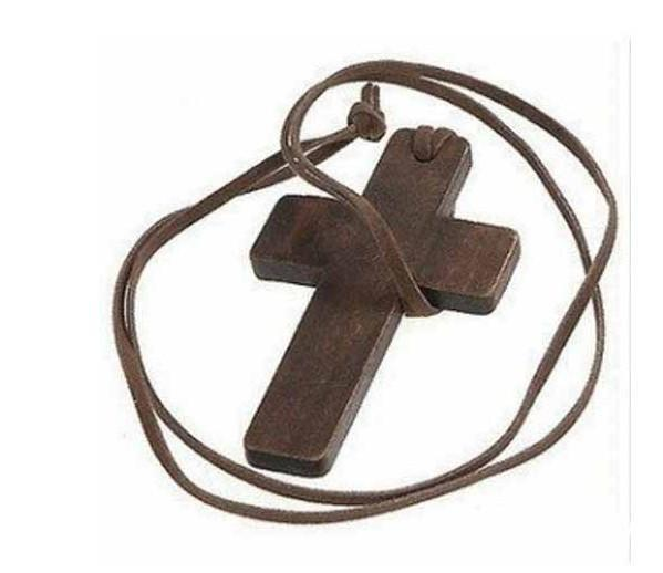 Women Pendant Necklaces, Fashion Jewelry, Wooden Cross-Necklaces & Chains-LeStyleParfait.Co.Ke