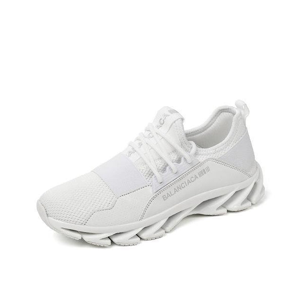 Women Running Shoes Breathable Sneakers White Athletic Shoes-Shoes-White-Le Style Parfait Kenya