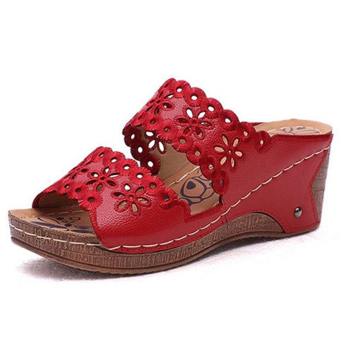 Women Sandals - Wedges Shoes-Shoes-LeStyleParfait.Co.Ke