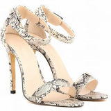 Women Shoes Peep-Toe High Heel Shoes-Shoes-Beige-Le Style Parfait Kenya