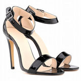 Women Shoes Peep-Toe High Heel Shoes-Shoes-Black-Le Style Parfait Kenya