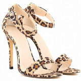 Women Shoes Peep-Toe High Heel Shoes-Shoes-Brown-Le Style Parfait Kenya