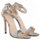 Women Shoes Peep-Toe High Heel Shoes-Shoes-Ivory-Le Style Parfait Kenya