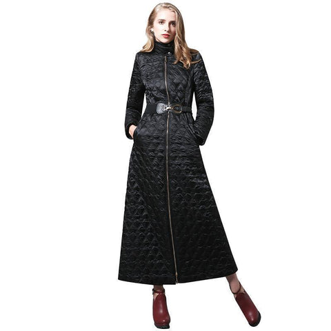 Women Winter Coat, Long Parka, Plus Size-Women Coats-S-Le Style Parfait Kenya