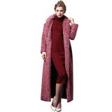 Women Winter Coat, Wool, Long Plus Size Coat-Women Coats-S-Le Style Parfait Kenya