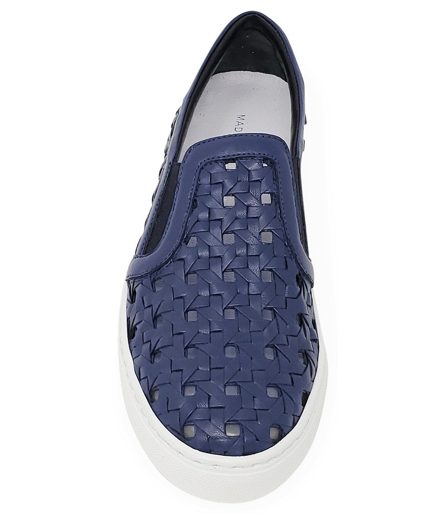 Madison Maison Woven Sneakers Navy