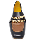 MADISON MAISON BY MARA BINI FLAT LOAFER BLK/TAN
