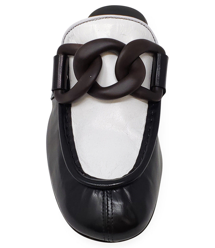 Rocco P. Black/White Mule