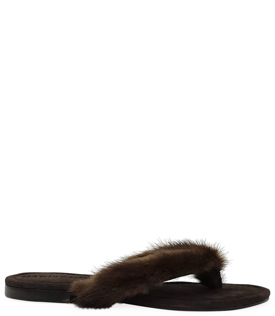 Madison Maison Brown Thong Mink Sandal