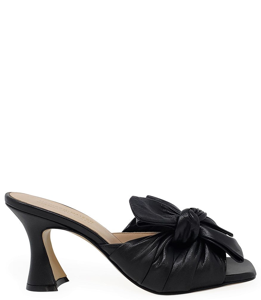 Madison Maison by Giampaolo Viozzi Black Bow Tie Mule