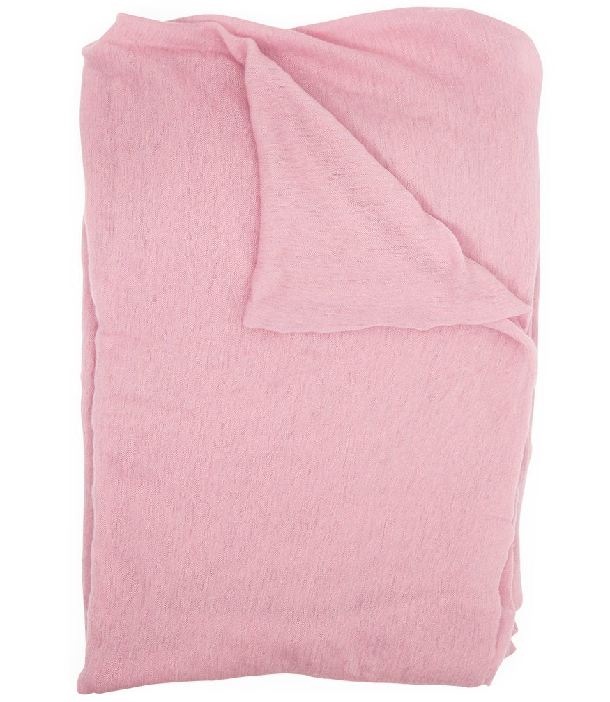 Botto Giuseppe Light Pink Cashmere Melange Scarf